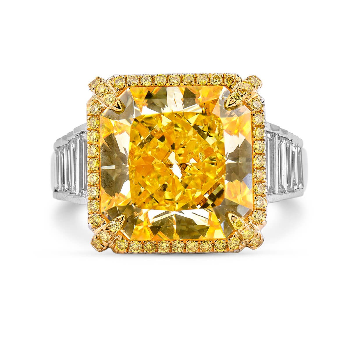 Natural Colored Diamond Ring